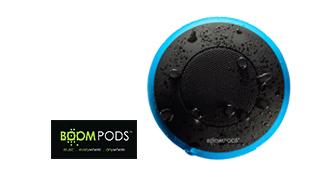 Prämie boompods aquapod Bluetooth Lautsprecher blau